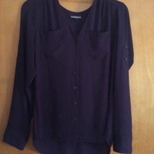 EXPRESS long sleeve blouse